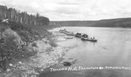 Tracking HB Transport on Athabasca River