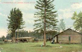 A Homestead on Lesser Slave River