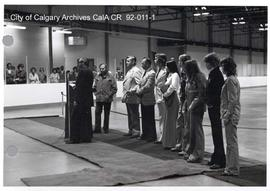 Opening Ceremonies of the Norma Bush Arena