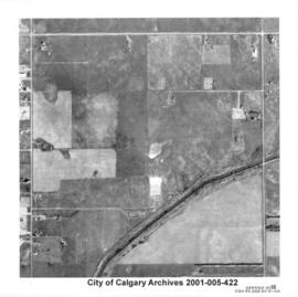 Aerial Photograph of Section 23SE, Calgary, Alberta