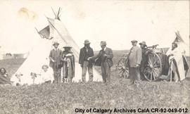 Richard Iverson with First Nations of Alberta