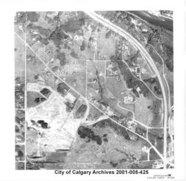 Aerial Photograph of Section 23W, Calgary, Alberta
