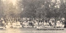 1st Annual Picnic, Calgary Waterworks Department