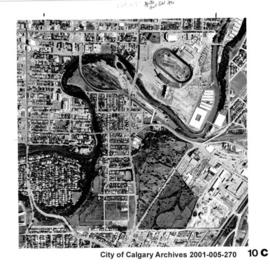 Aerial Photograph of Section 10C, Calgary, Alberta