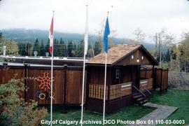 Access Control Building for Canmore Olympic Village, Alberta