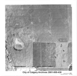 Aerial Photograph of Section 23SS, Calgary, Alberta
