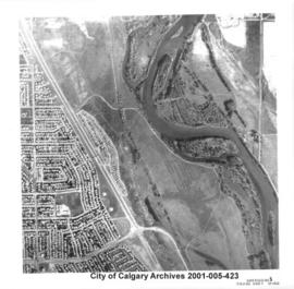 Aerial Photograph of Section 23S, Calgary, Alberta