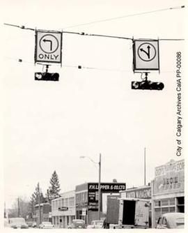 Traffic Lights on Sixth Avenue, 1959