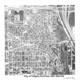 Aerial Photograph of Section 23C, Calgary, Alberta