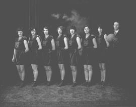 Wetaskiwin High School Girls Basketball Team, Wetaskiwin, Alberta