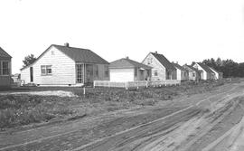 Veterans' housing project, 48th Ave., Wetaskiwin, Alberta.