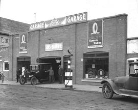 Sims and Brown Ford Garage, Wetaskiwin, Alberta.