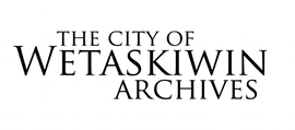 Go to City of Wetaskiwin Archives