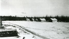 Camp at Rail Spur, Erith, Alberta.