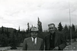 Nels E. Bell with Clifford H. Bell.