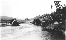 Train Derailment on the Coal Branch.