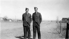 Jim and Terrence Stevens While Serving with Royal Canadian Air Force