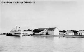 Warren's Landing, a Dominion Fish Company settlement, Manitoba.