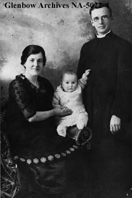 Rev. F. Ross Gibney and family, Moose Jaw, Saskatchewan.