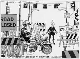 """Chief, Sgt. O'Hara ... we've lost the parade!"""