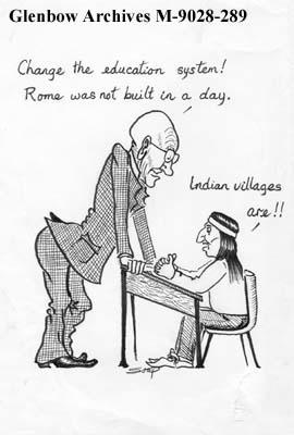 """Change the education system!  Rome was not built in a day.""  ""Indian Villages are..."