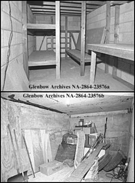 Bomb shelters are now obsolete, Calgary, Alberta.