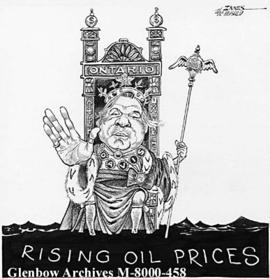 [Rising oil prices.]