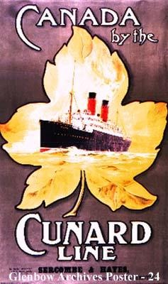 """Canada by the Cunard Line"""