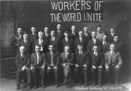 First Complete Workers Administration,  Blairmore, Alberta.