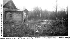Log building, Cumberland District, Saskatchewan.