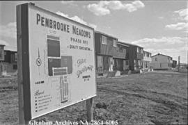 Article in paper about Penbrooke Meadows homes, Calgary, Alberta.