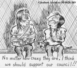 """No matter how crazy they are, I think we should support our council!!"""
