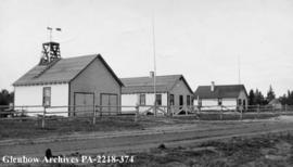Department of Natural Resources' buildings, Cumberland House, Saskatchewan.