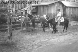 Rodeo Queen Contestants, Pyramid Riding Stables, Jasper, Alberta