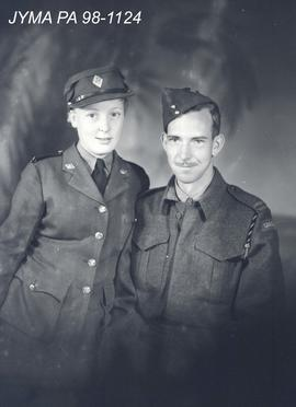 Private G.W. Haines and P.O. Hapleton