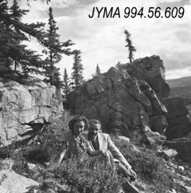 [Joe Weiss] and [Barbara Switalia?], [Jasper National Park]
