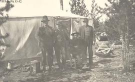 An Otto Brothers camp, Jasper National Park, Alberta.