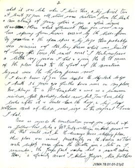 Correspondence between Edward B. Abram and Constance Peterson