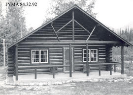 Mount Robson warden's cabin, British Columbia.