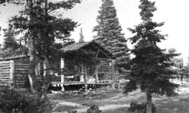Berg Lake Chalet,  Berg Lake Bungalow Camp, British Columbia.