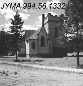 Jasper town site buildings : St. Mary and St. George's Anglican Church