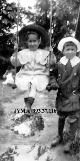 Leonard and Joan Robson, children of Jack and Mary Robson.