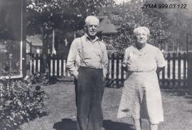 Mr. and Mrs. Ed Cottam, Jasper, Alberta.
