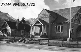 Jasper town site buildings : Jasper Post Office