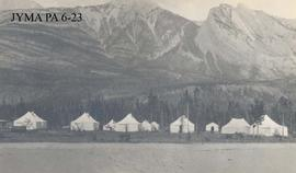 Camp at Henry House, Jasper National Park, Alberta.
