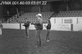 Jasper Rodeo Queen Pageant Judges, Jasper Arena, Alberta