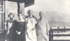 Staff of the Lucerne Beanery, Lucerne, British Columbia.