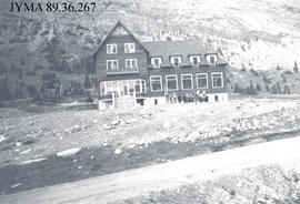 The Columbia Icefields Chalet, Jasper National Park, Alberta.