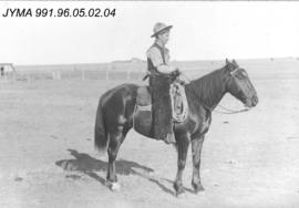[Unidentified man on horse]