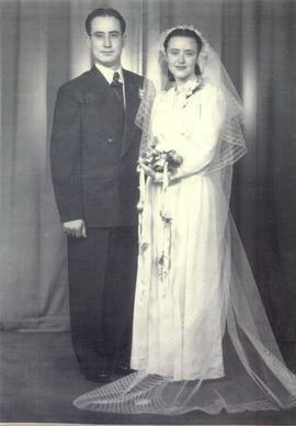 Wedding of Dave Kushner and Martha Hardin.